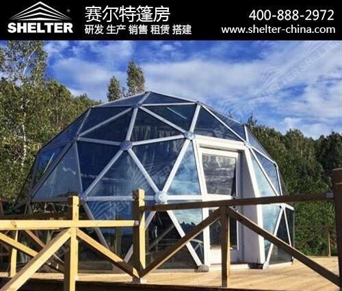玻璃球篷房