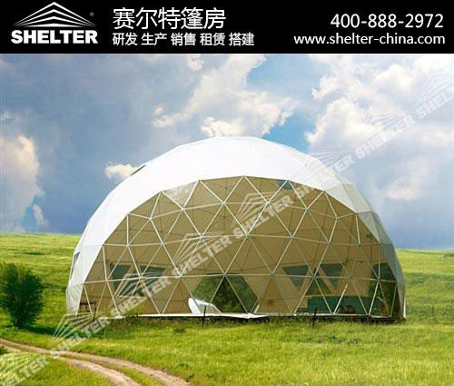 半透明球形篷房