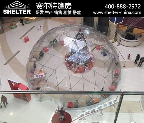 全透明球形篷房