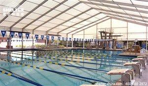 游泳池篷房