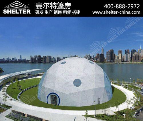 大型球形帐篷