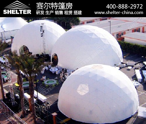 球形组合篷房