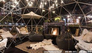 透明球形帐篷餐厅